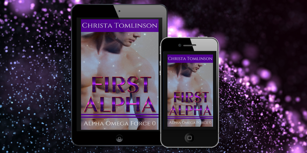 Cover Image for Sci-Fi Omegaverse m/m romance First Alpha